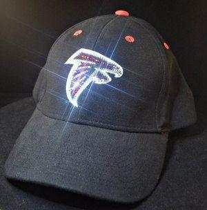 f22d3433 Atlanta Falcons Womens Bling Hat Swarovski Crystal Rhinestone Ladies ...