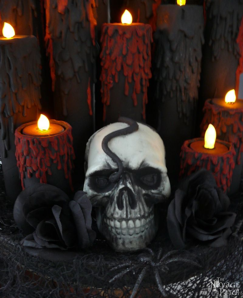 They cut up the tubes for this Halloween idea and wait till you see - when should you decorate for halloween