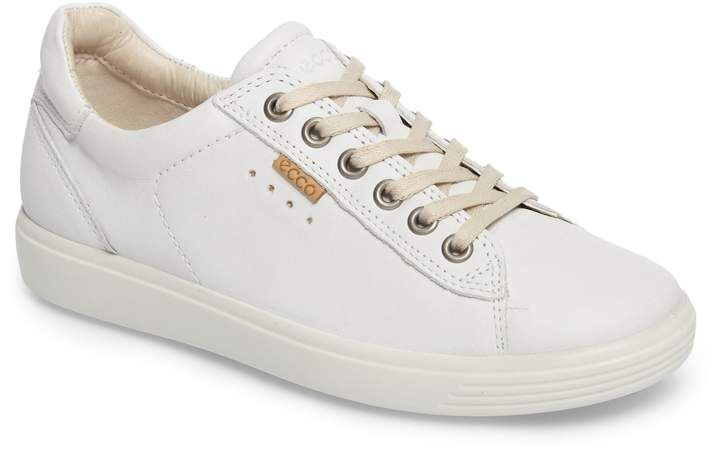 ecco soft 7 long lace perforated