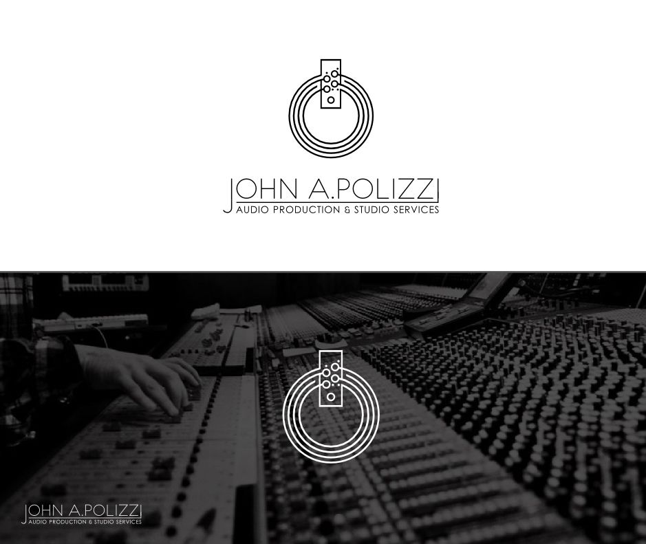 Logo Design For John A Polizzi Johnapolizzi The Requirement Was To Combine Studio Recording Gear And Power Symbol Into Single Icon Which Is Modern
