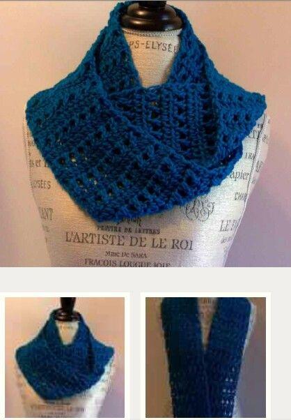Infinity scarf by craftsy.com looks pretty easy! | tejido ...