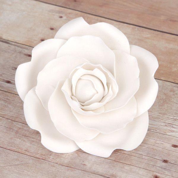 White Camellia Gum Paste Sugarflower Cake Topper Great For Cake Decorating Wedding Cak Wedding Cake Fresh Flowers Flower Cake Decorations Gorgeous Wedding Cake