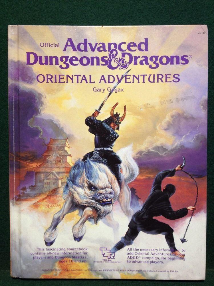 Tsr Advanced Dungeons Dragons Oriental Adventures 2018