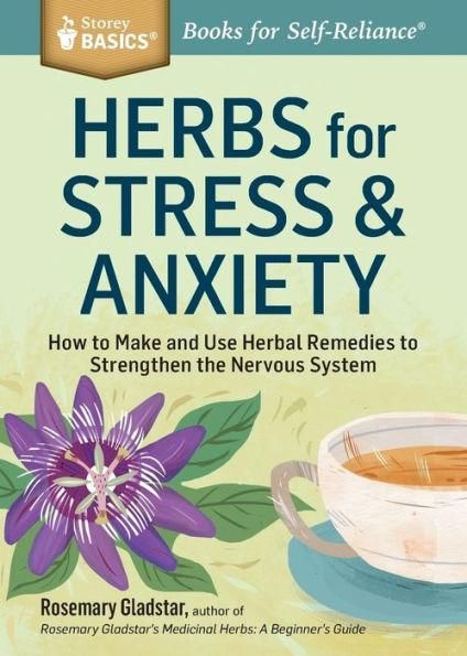 Treat stress, anxiety, depression, and more with simple herbal remedies that calm your mind, build a healthy nervous system, and promote lasting peace. In this informative guide, renowned herbalist Rosemary Gladstar profiles 21 herbs proven to be effective at soothing common ailments like insomnia, panic attacks, skin conditions, and migraines. With simple directions for making herbal mixtures that can be used in delicious teas, tinctures, and capsules, Gladstar shows you how to harness the powe