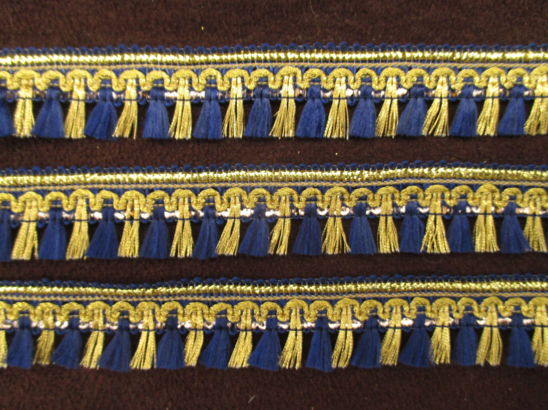 5 Yards Indian Tassel Fringe Ribbon Trim Sewing Decorative Embellishments