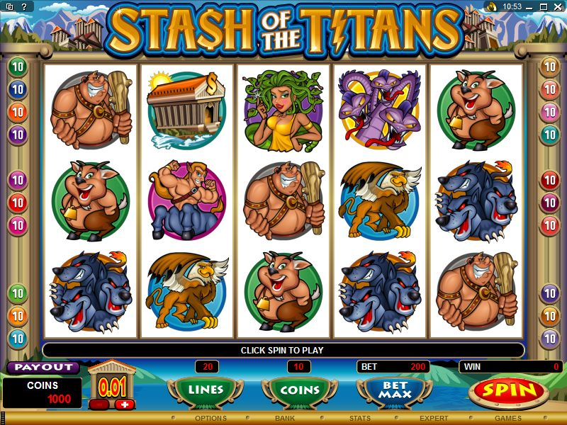 Stash of the Titans Slot Machine, Casinò online Voglia di Vincere #Slot, #Slotmachine, #Vogliadivincere, #Casinoonline
