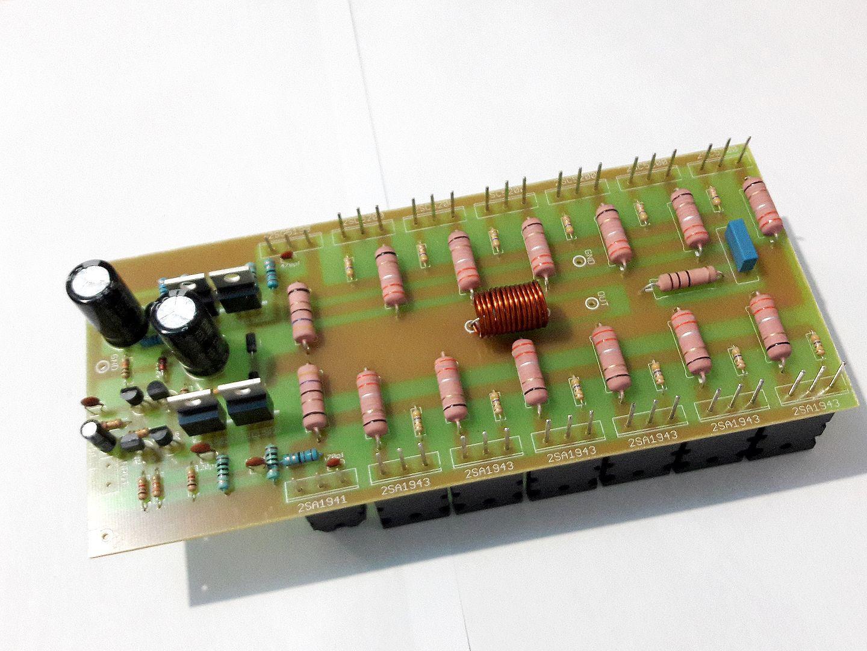 Kit Placa Componentes Para Montar Amplificador 1000wrms 2 Ohms