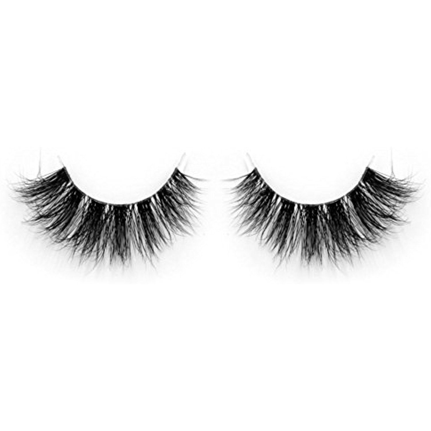 833ffb5f21f Lunamoon Invisible Transparent Band 3D Mink Fur Fake Eyelashes Women's Makeup  False Lashes Hand-made Mink Lash 1 Pair Pack (TD30) ** Check this awesome  ...