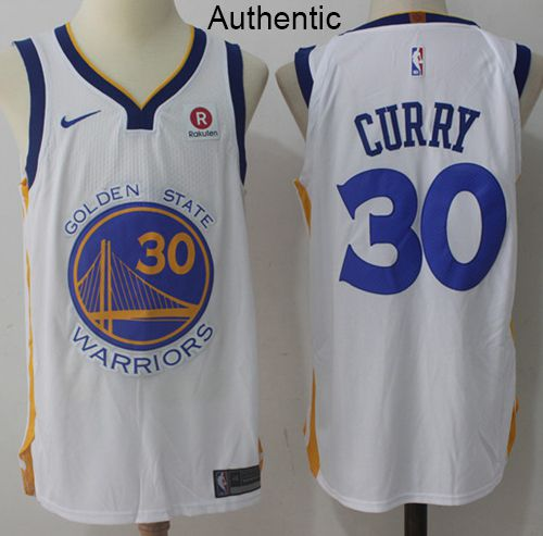 3a1fced12d2 Nike Warriors  30 Stephen Curry White NBA Authentic Association Edition  Jersey