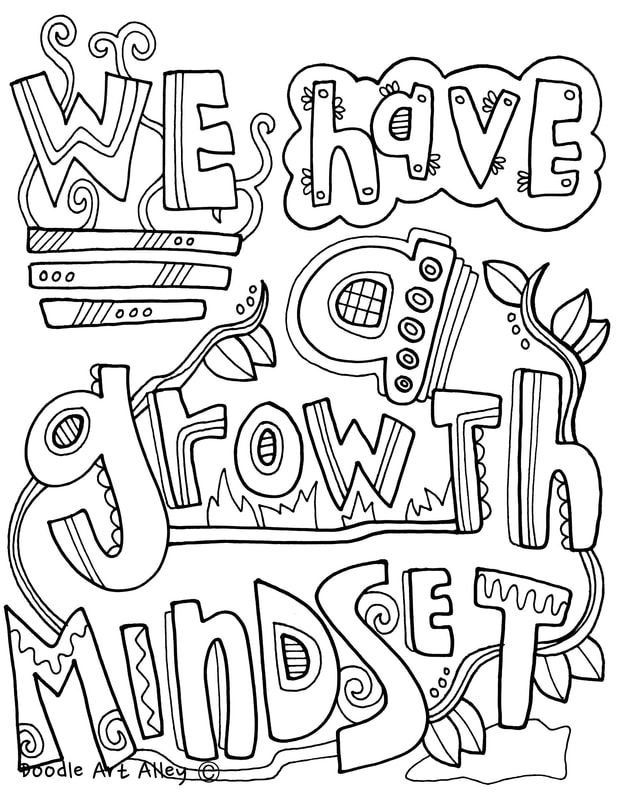 Growth Mindset Coloring Pages At Classroom Doodles Growth Mindset Growth Mindset Activities Growth Mindset Posters