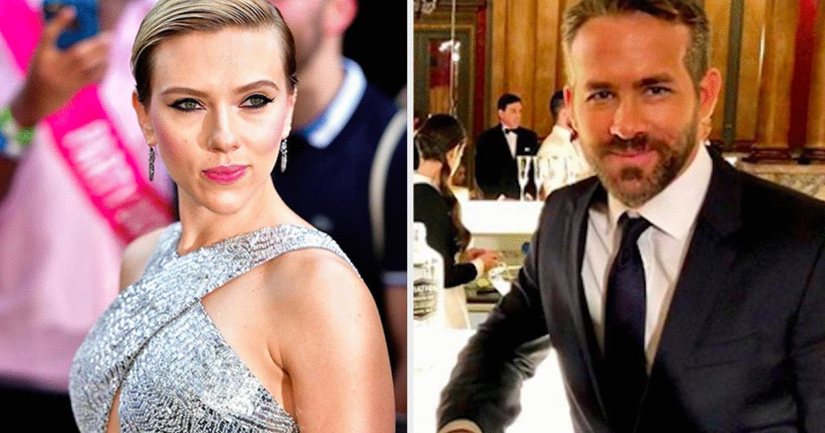 Scarlett Johansson Just Talked About Ex Husband Ryan