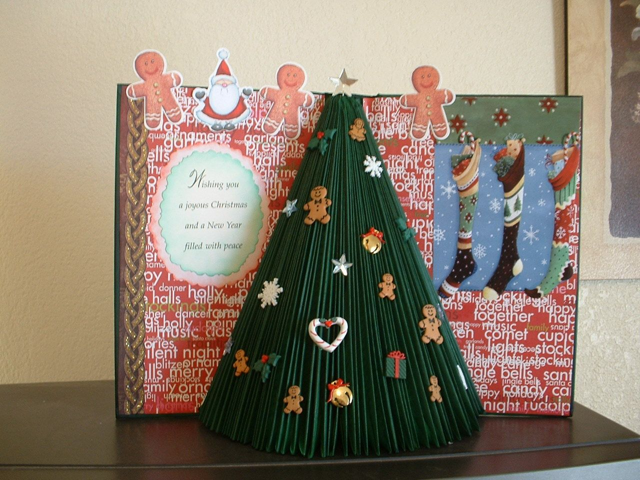 Gone Crafting Altered Book 3d Christmas Book Christmas Tree Christmas Books Old Book Crafts