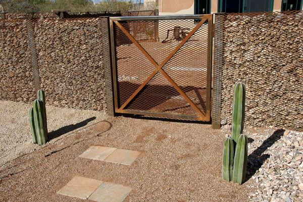 Access Denied | Expanded metal, Metal fence, Rock fence