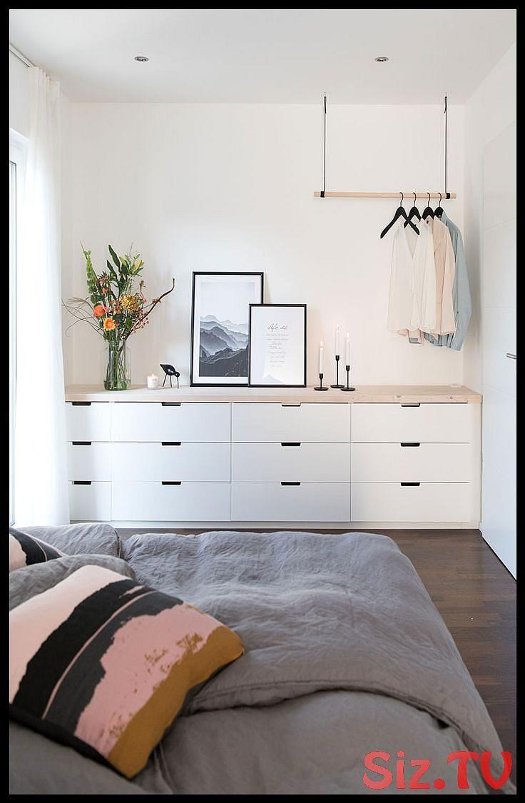 Schlafzimmer Mit Ikea Nordli Diy In 2020 Schlafzimmer Einrichten