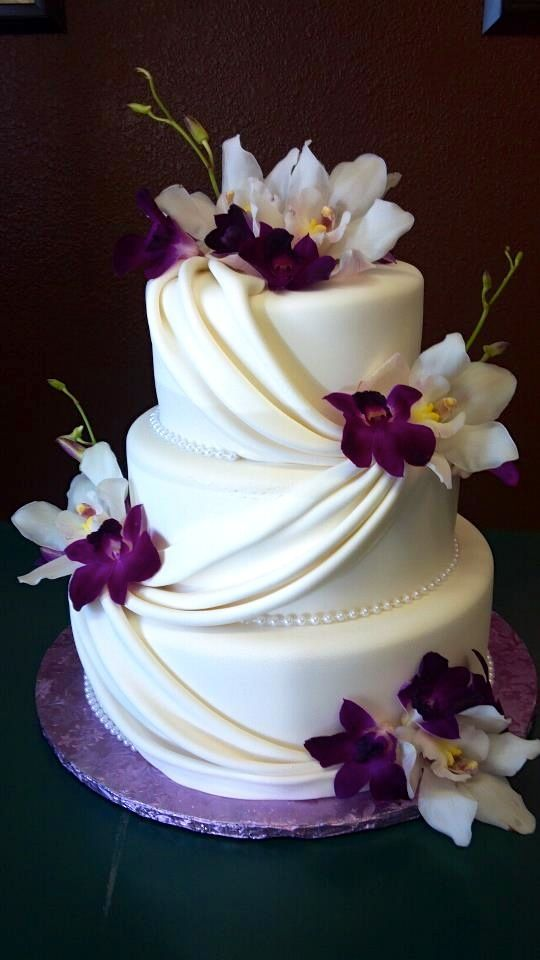 Image Result For Wedding Cake Styles Purple Theme Cakes In 2018