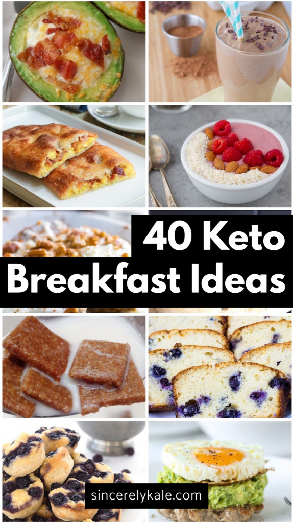 40 Quick Low Carb Keto Breakfast Ideas images