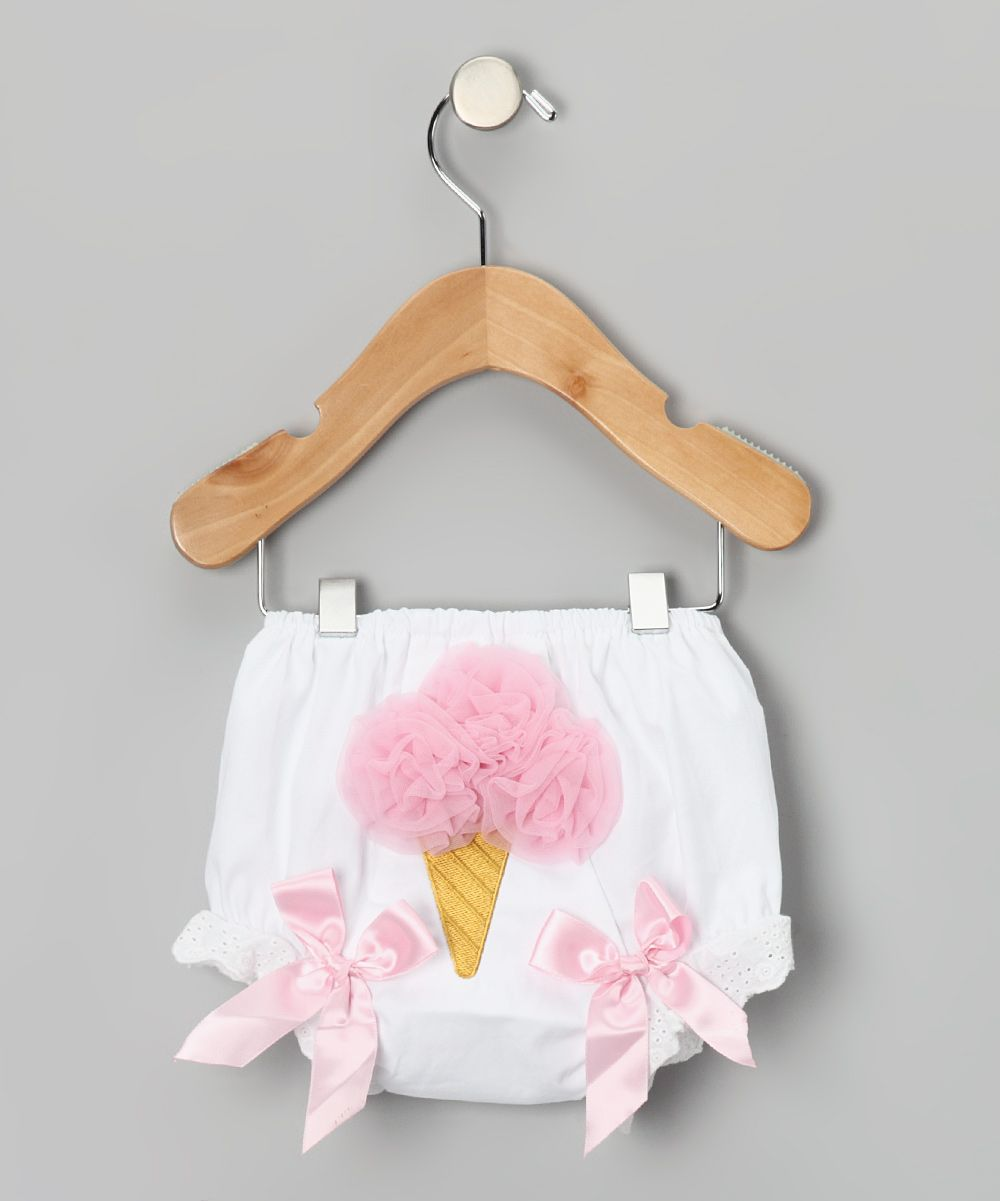 Pink Ice Cream Diaper Cover - Infant & Toddler