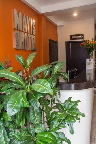 Hotel Mayis Oaxaca de Ju�rez Offering flat-screen TV in each room, Hotel Mayis is located in Oaxaca de Juarez, only 400 m from the city centre. Laundry services are available to all guests. Free WiFi access is included.