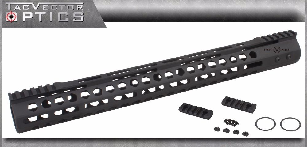 Vector Optics M-LOK 17 inch Free Float Handguard Picatinny Rail