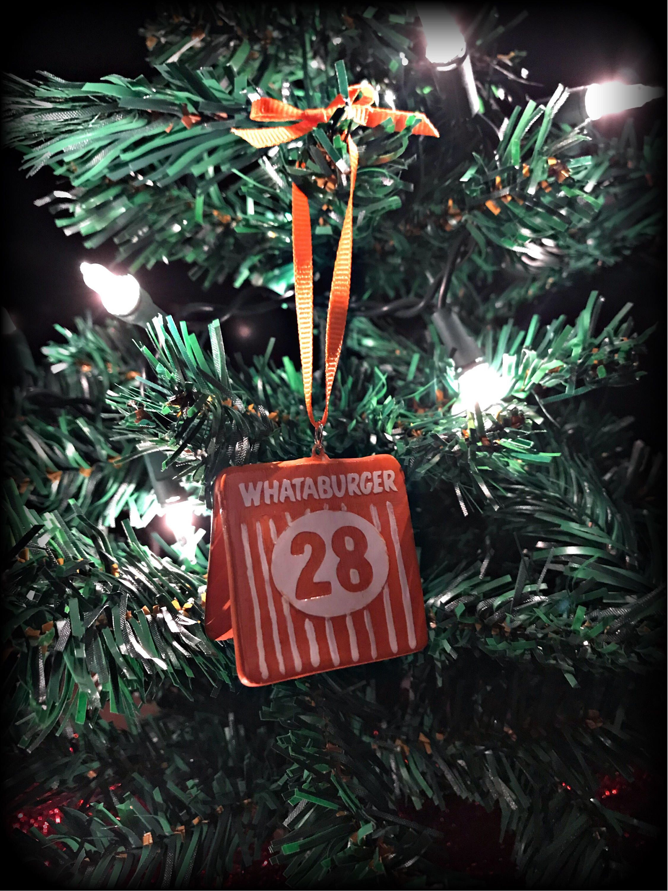 excited to share the latest addition to my etsy shop whataburger christmas ornament christmasornaments christmas - Is Whataburger Open On Christmas