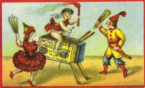Dancers matchbox