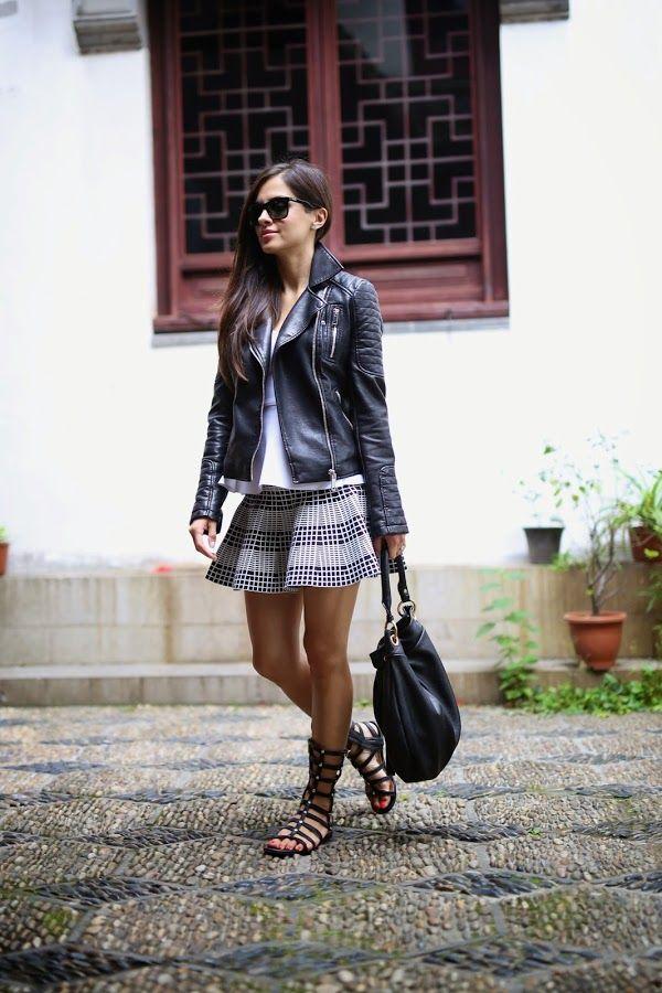 #leather #jacket via #miamiamine