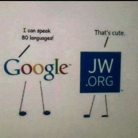 Image result for jw org google that's cute languages   JW