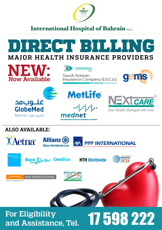 Got Health Insurance The International Hospital Of Bahrain Major Health Insurance Direct Health Insurance