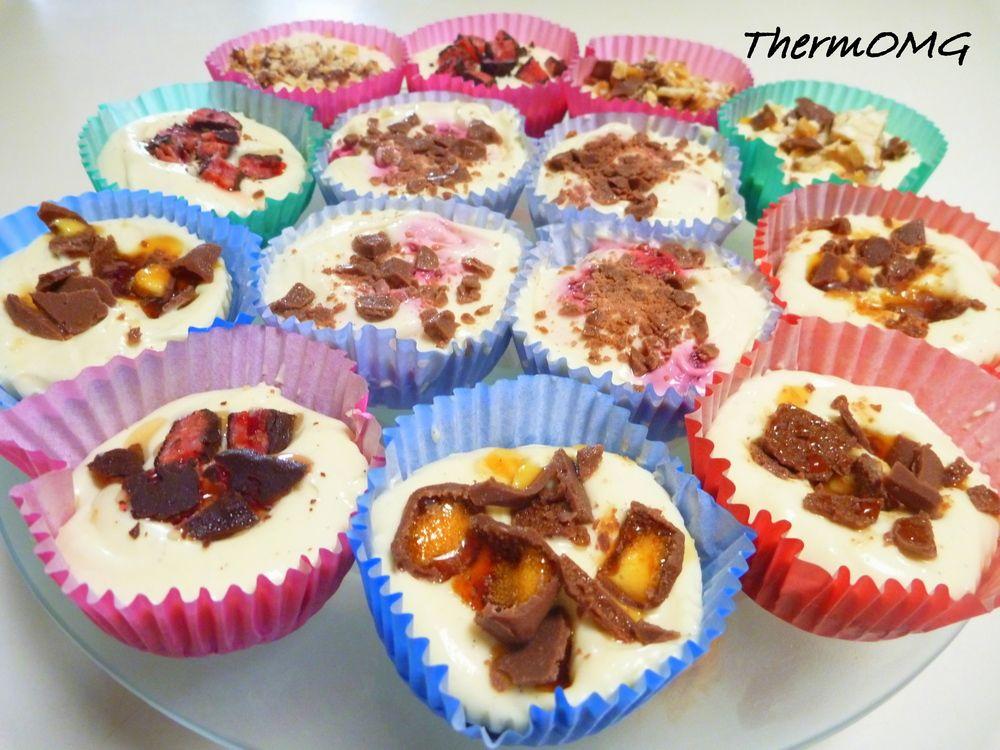 Thermomix white Chocolate No Bake Cheesecake