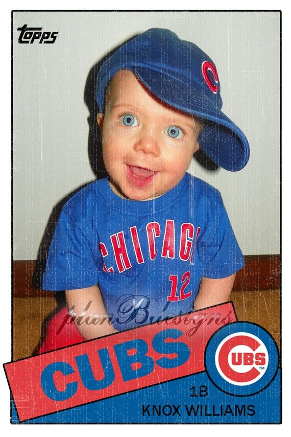 Baseball Card Birthday Invitation Front And Back Print Your Own