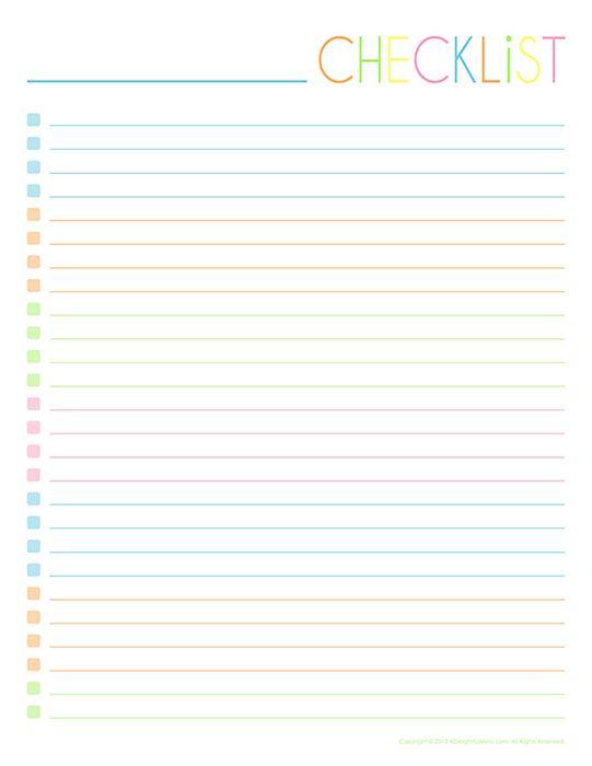 To-Do  Notes Printables สมุดโน๊ต Pinterest Printables