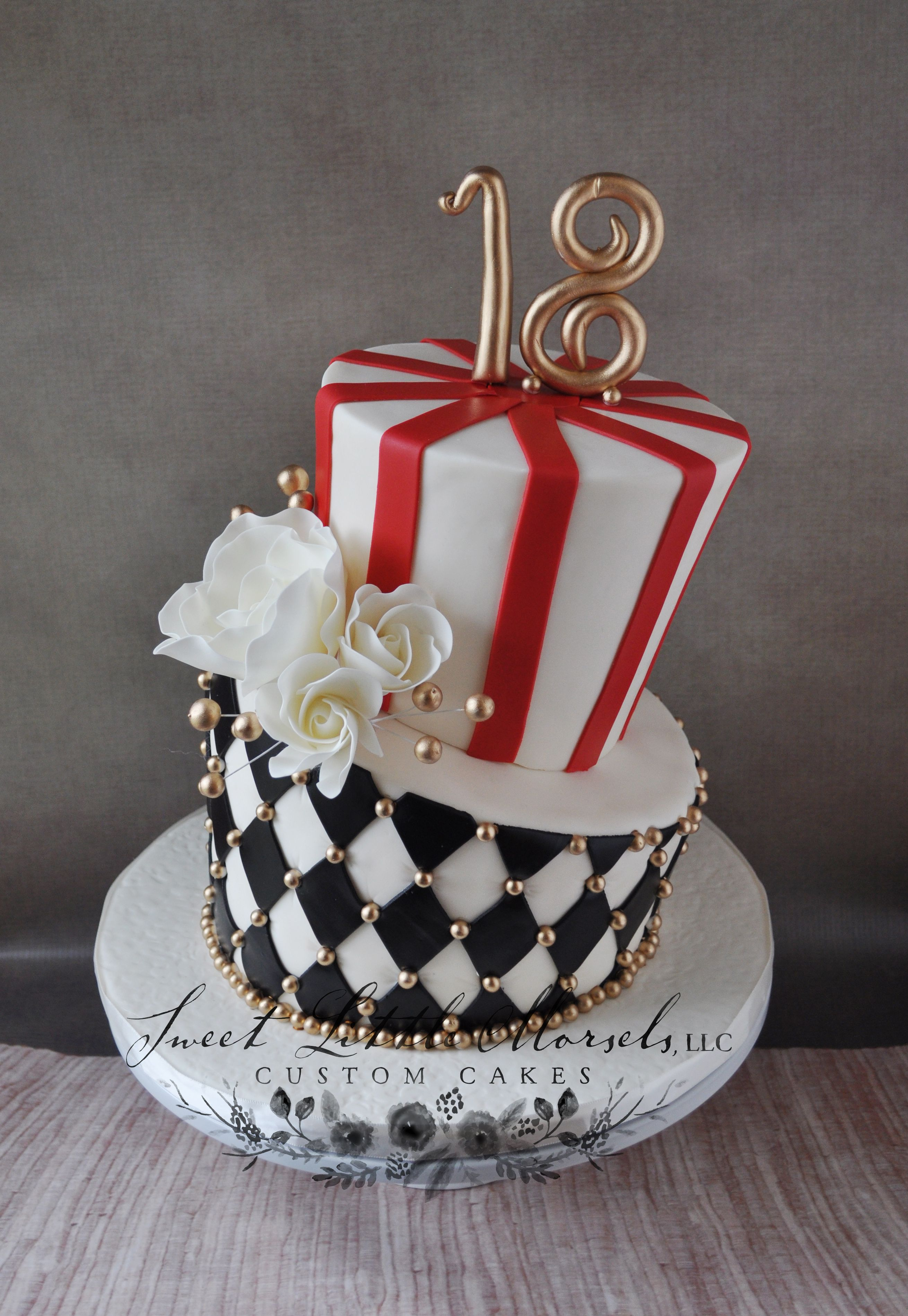 Vintage Circus Theme Topsy Turvy Cake 18th Birthday Cake Cakes