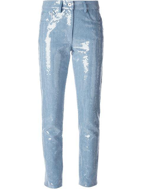 Einkaufen Moschino Cropped-Jeans