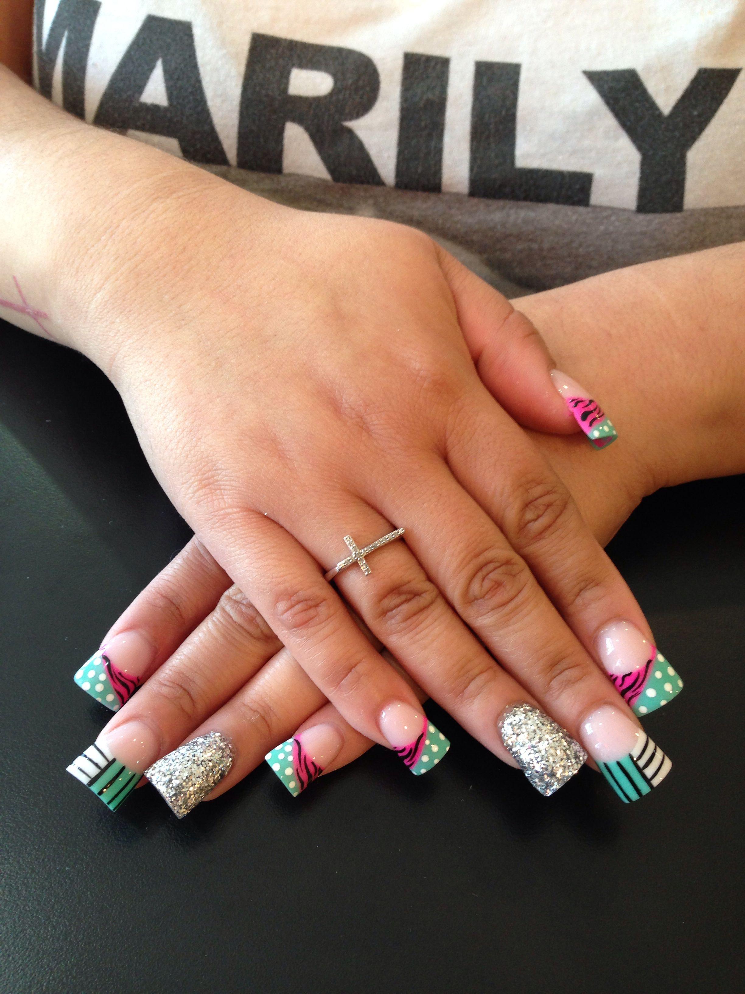 Flare nails | Fun nails | Pinterest | Flare nails, Makeup and Duck nails