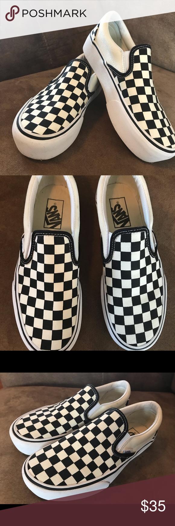 Vans Checkerboard slip-on Men's 5.0