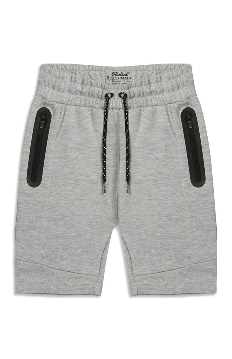 Primark - Grijze joggingshorts voor jongens  fe196e4bee4ac