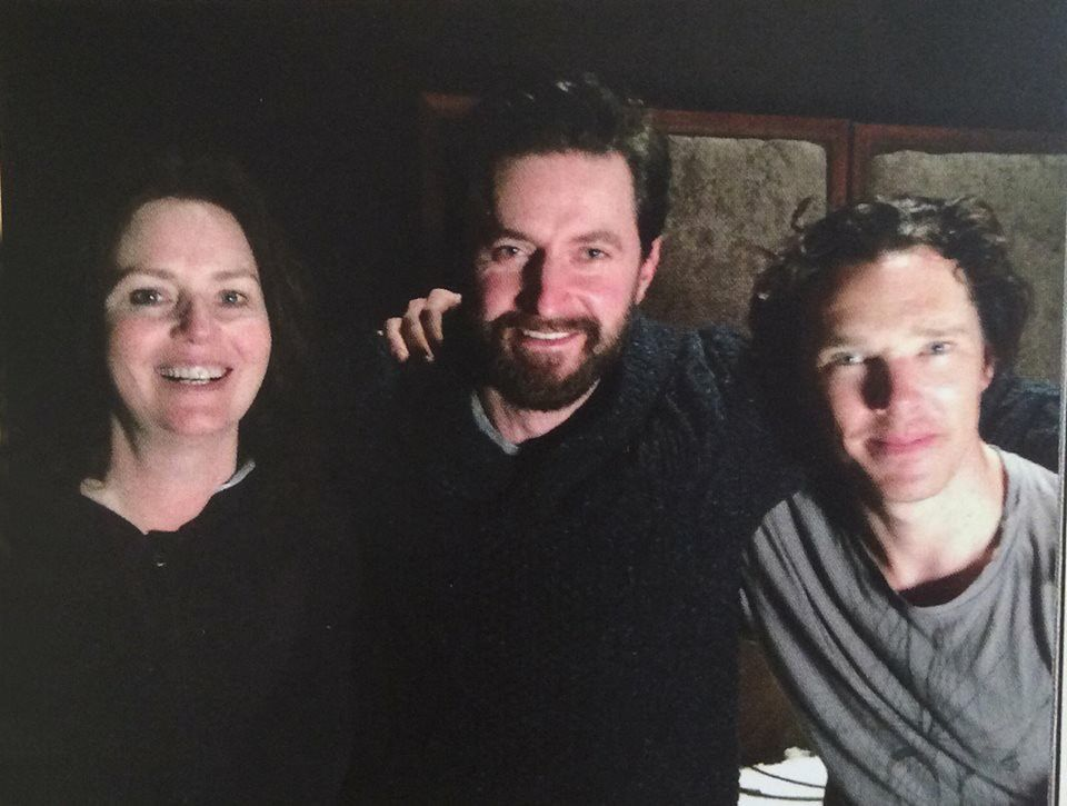 "Ben went to visit his ""The Hobbit"" Co-stars Richard Armitage"