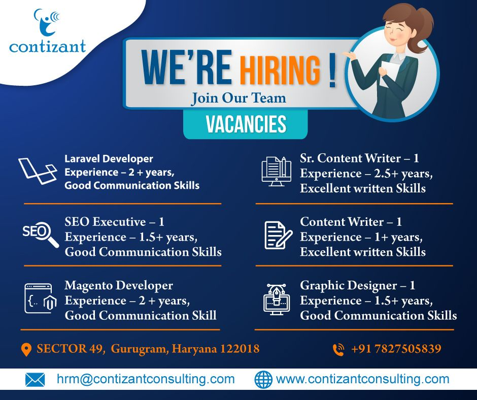 Yes We Are Hiring We Are Looking For Dynamic People Who Can Join