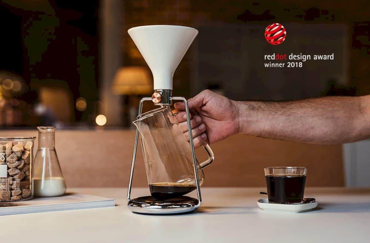Gina an award winning smart coffee instrument coffee