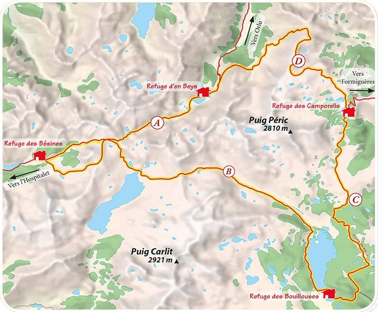 L Itineraire Itineraire Carte Rando