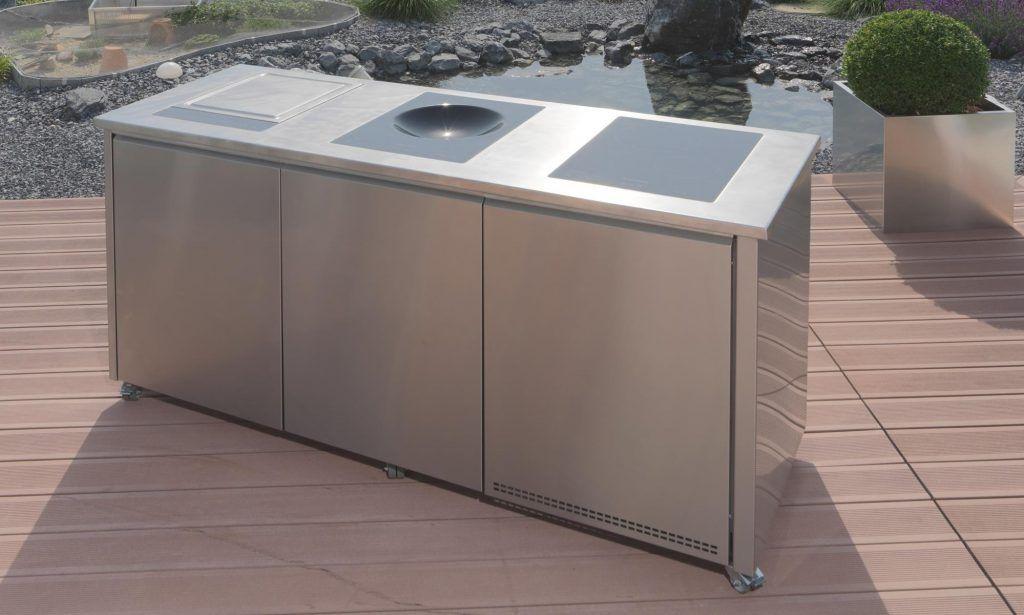 Edelstahl schrank outdoor kuche for Kuchenschrank outdoor