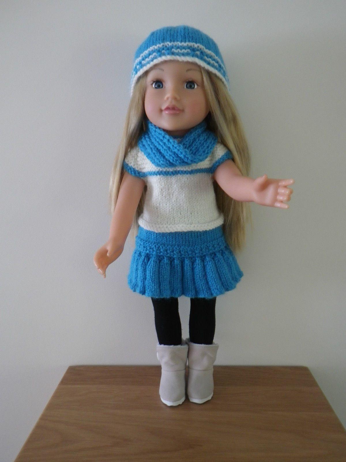 American Girl / Designafriend Hand Knitted Dolls Clothes | Dolls ...