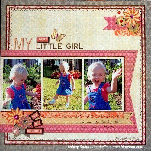 My Mind's Eye - Bella Scraps's Gallery: My Little Girl