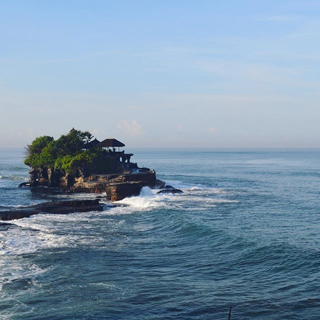 Pura Tanah Lot (temple), about 20 mins from Canggu.