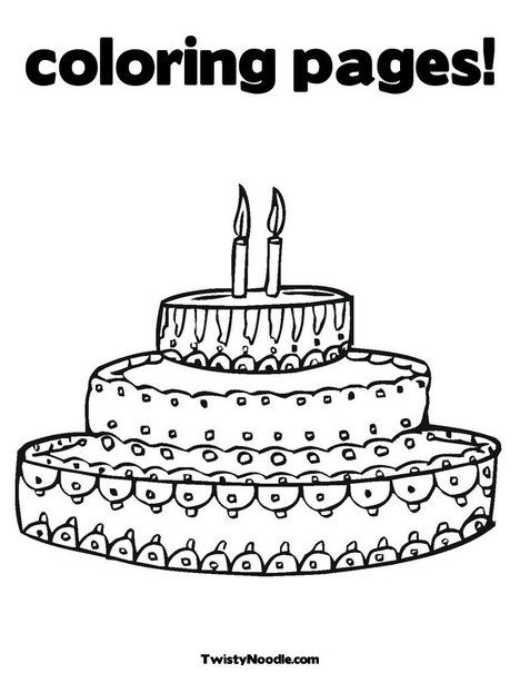 40 Years Old Birthday Coloring Page - Free Printable Coloring ... | 605x468