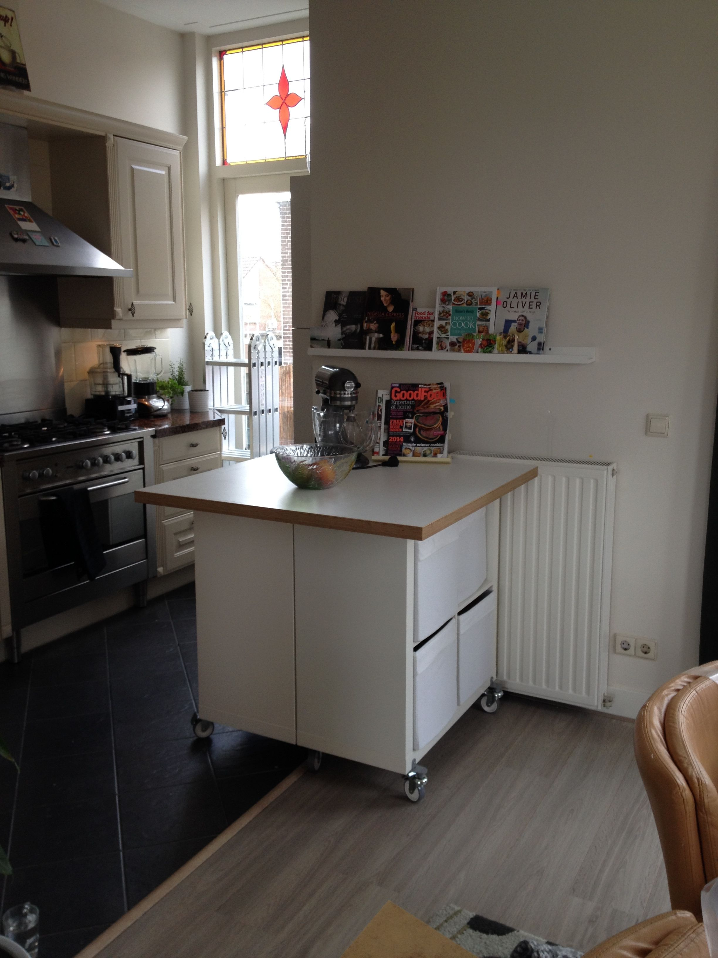 Kitchen Island On Wheels Ikea