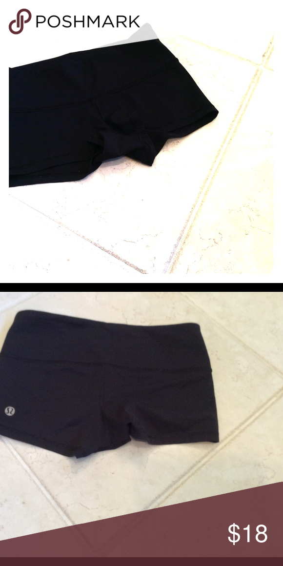 Lululemon Luon Bootie Shorts Great for Middle school volleyball players!  XXS Shorts