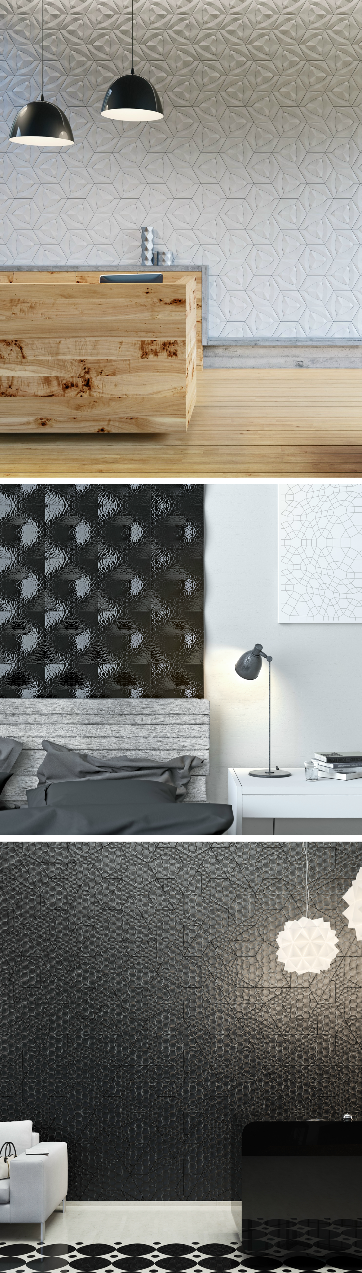 wall tile collections by kazaconcrete dwall decoration also rh pinterest