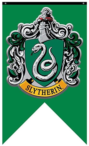 Harry Potter Slytherin House Wall Banner Harry Potter