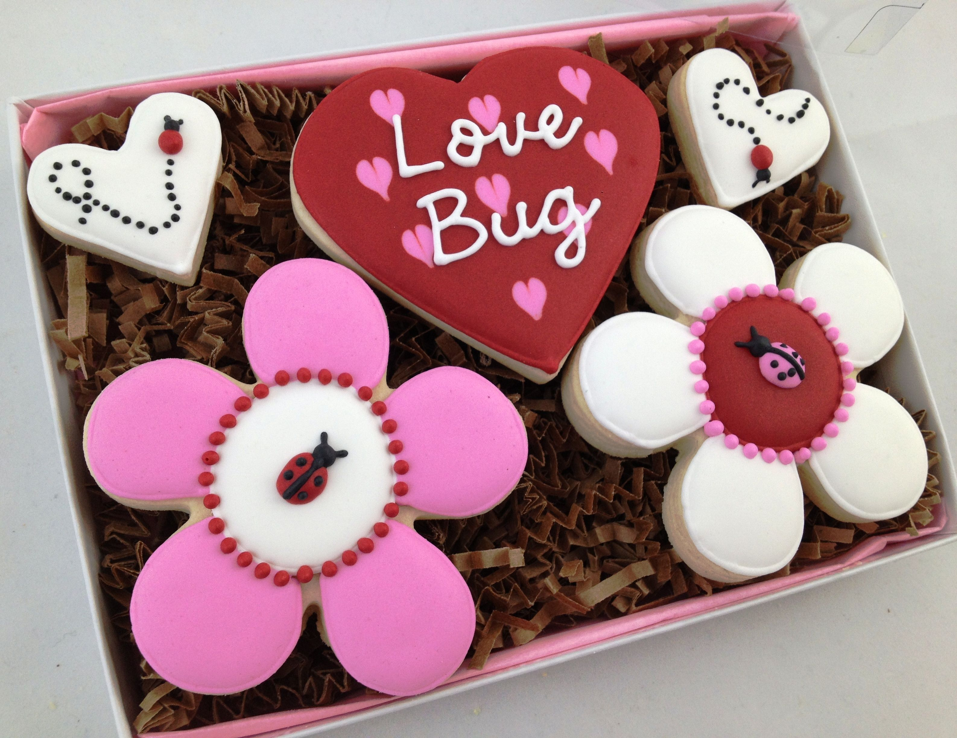 The perfect card for your love bug - a cookie card!